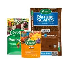 Scotts Mulch, Soil, & Garden